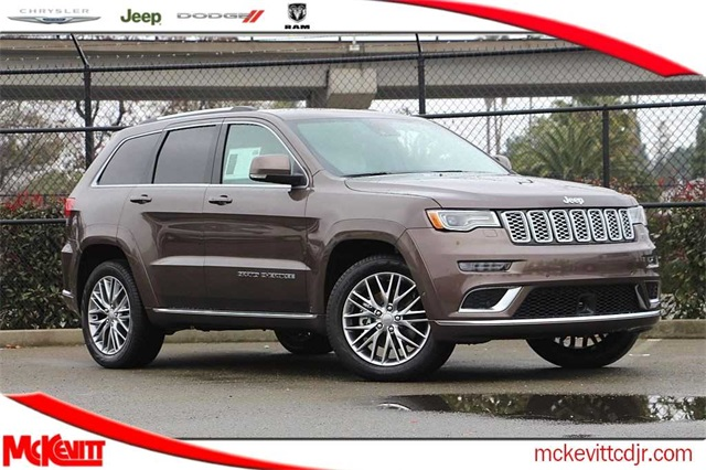 2018 Jeep Grand Cherokee >> New 2018 Jeep Grand Cherokee Summit 4x4