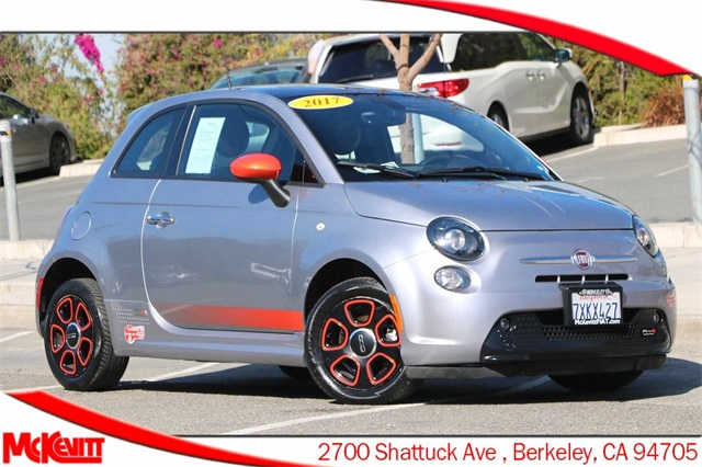 Used Fiat 500e Berkeley Ca