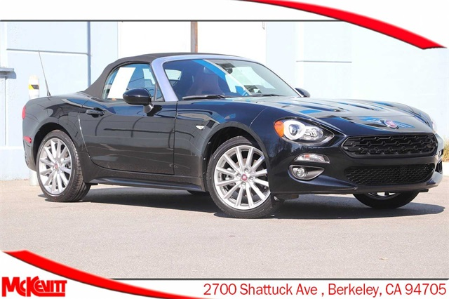 Certified Pre-Owned 2018 FIAT 124 Spider Lusso